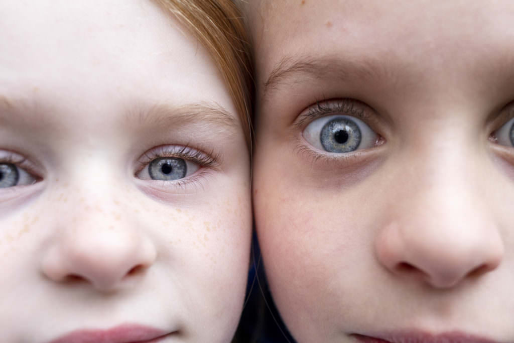 eyes side by side The Creative shutter photography