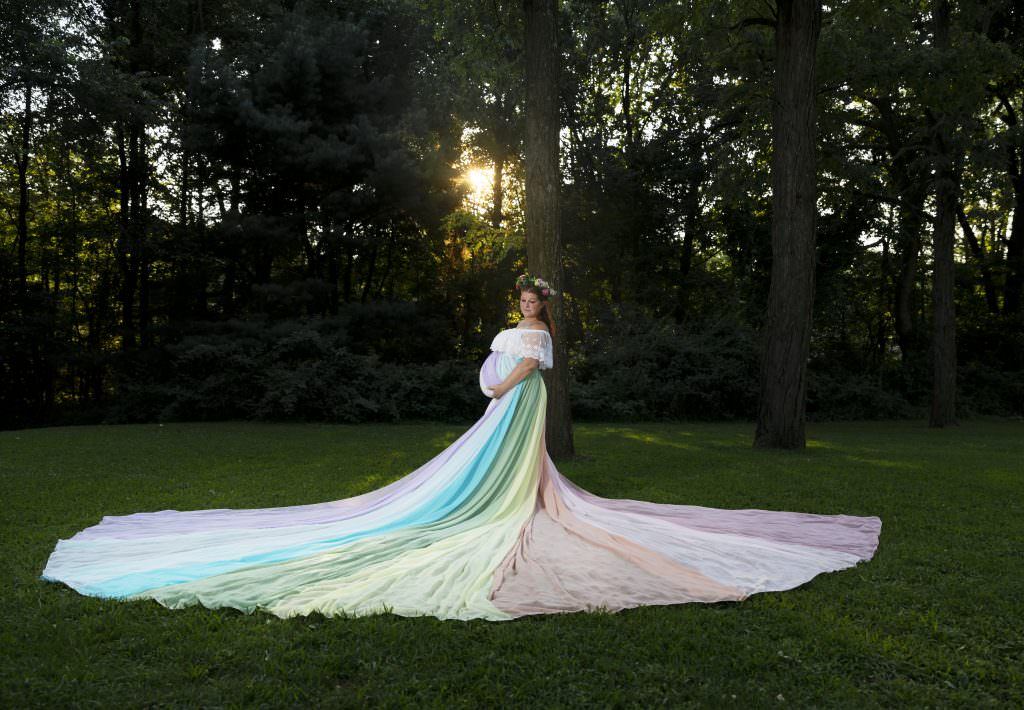 Maternity session, The creative Shutter Photography, studio sessions, Philly photographer, Rainbow baby,