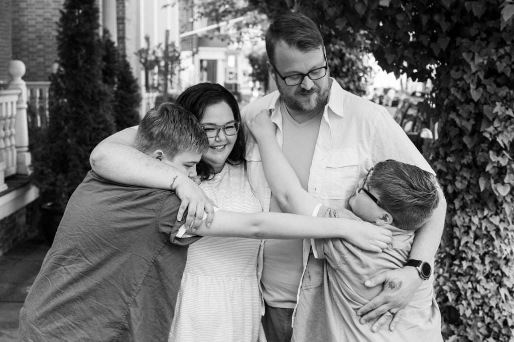 The Creative Shutter Photography Bristol PA family session